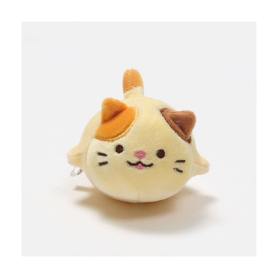 Mochi Town Cat Trio Stress Relief Ball - Cheese 12cm | Toy Galeria Singapore