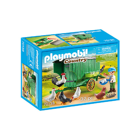 Playmobil Country Farm - Chicken Coop | Toy Galeria Singapore