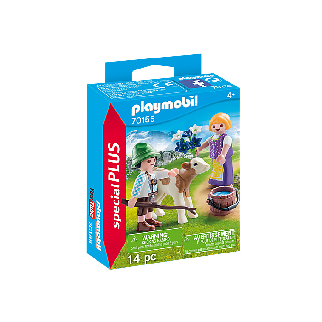 Playmobil Special PLUS - Children with Calf | Toy Galeria Singapore