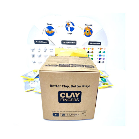 ClayFingers Classic Set | Toy Galeria Singapore