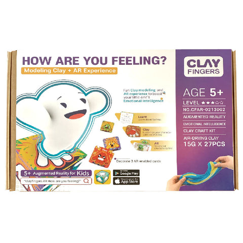 ClayFingers - How Are You Feeling Playset | Toy Galeria Singapore