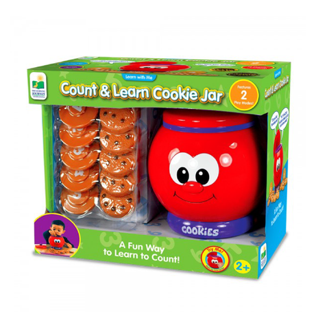 The Learning Journey Learn with Me Cookie Jar | Toy Galeria