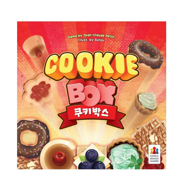 Korea Boardgames - Cookie Box | Toy Galeria Singapore