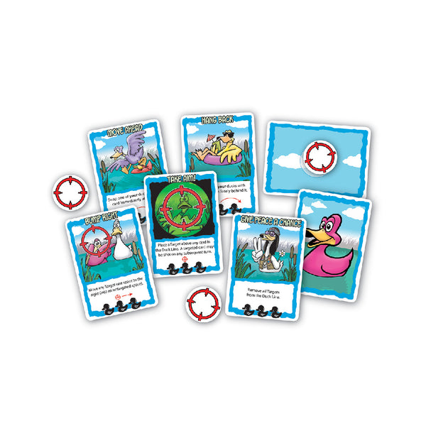 Playroom Entertainment Sitting Ducks Gallery Card Game