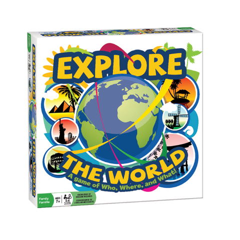 Outset Media Explore The World Game | Toy Galeria