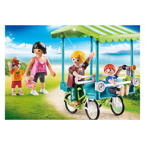 Playmobil Family Fun Camping - Family Bicycle | Toy Galeria Singapore