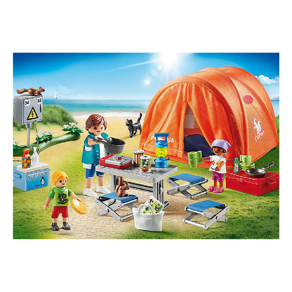 Playmobil Family Fun Camping - Family Camping Trip | Toy Galeria Singapore