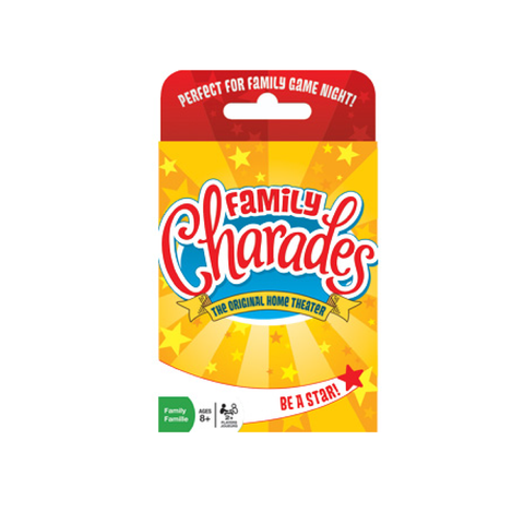 Outset Media Family Charades Card Game | Toy Galeria