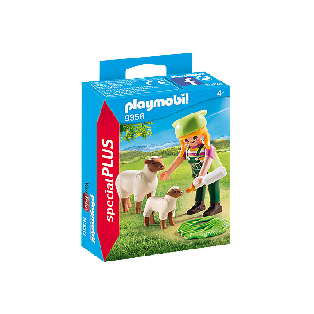 Playmobil Special PLUS - Farmer with Sheep | Toy Galeria Singapore