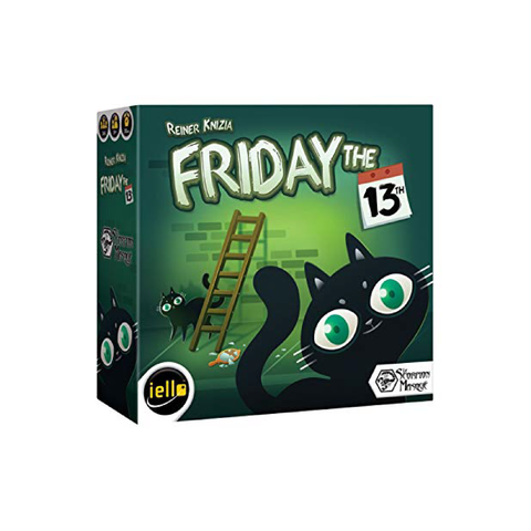 Friday the 13th Card Game Singapore | Toy Galeria