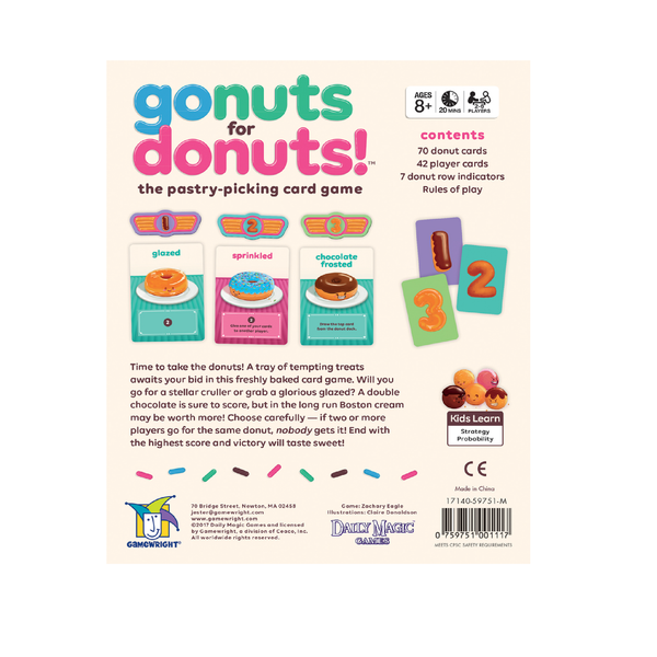 Go Nuts For Donuts | Toy Galeria