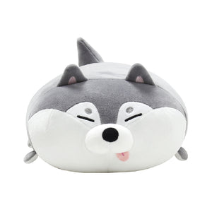 Mochi Town Mochi Nap Time Cushion - Husky 30cm | Toy Galeria Singapore