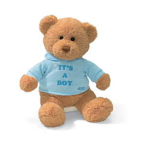 It's a Boy bear plush Singapore | Toy Galeria