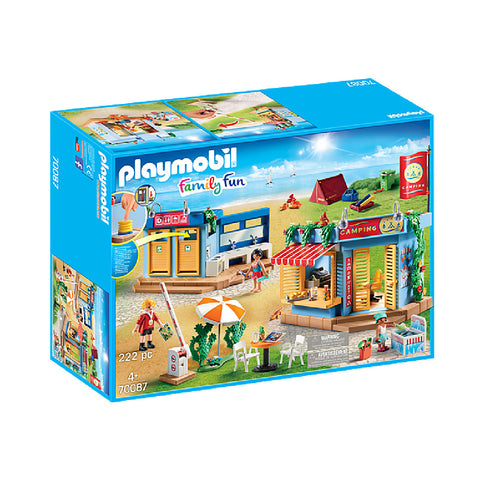 Playmobil Family Fun Camping - Large Campground | Toy Galeria Singapore