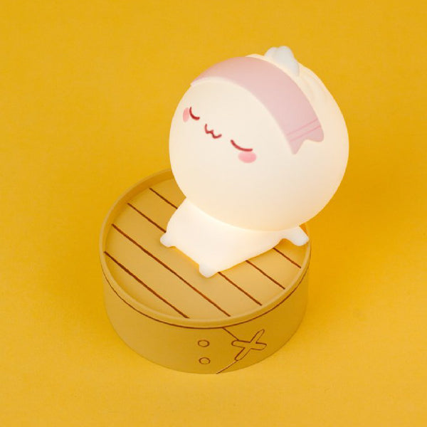 Smoko Lil B Dumpling Steamer Ambient Light | Toy Galeria Singapore