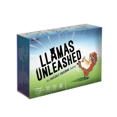 Llamas Unleashed Card Game | Toy Galeria Singapore