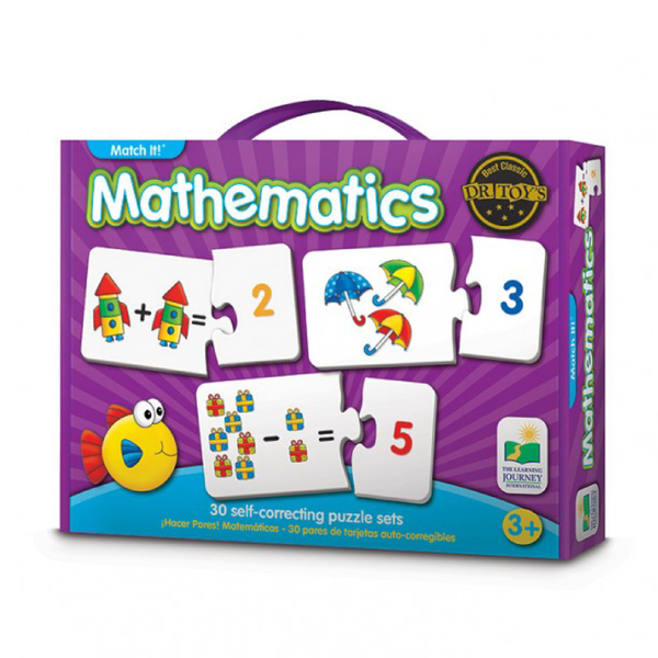 The Learning Journey Match It - Mathematics | Toy Galeria