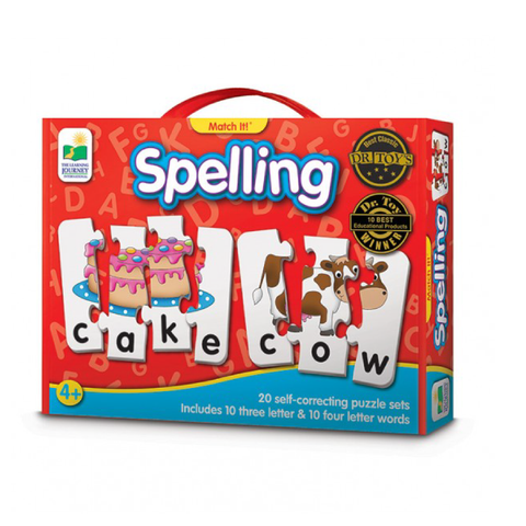 The Learning Journey Match It - Spelling | Toy Galeria