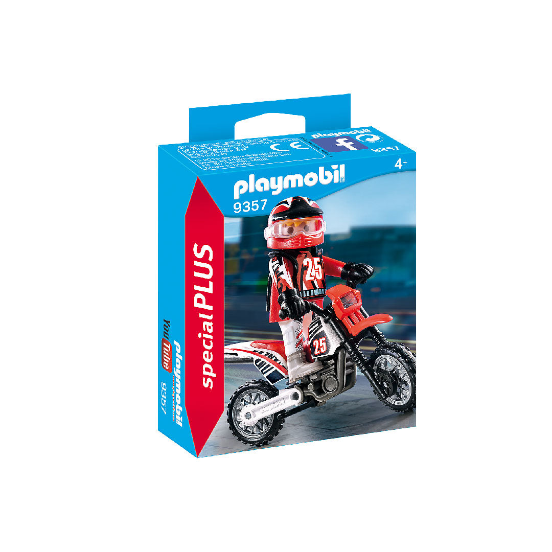 Playmobil Special PLUS - Motocross Driver | Toy Galeria Singapore