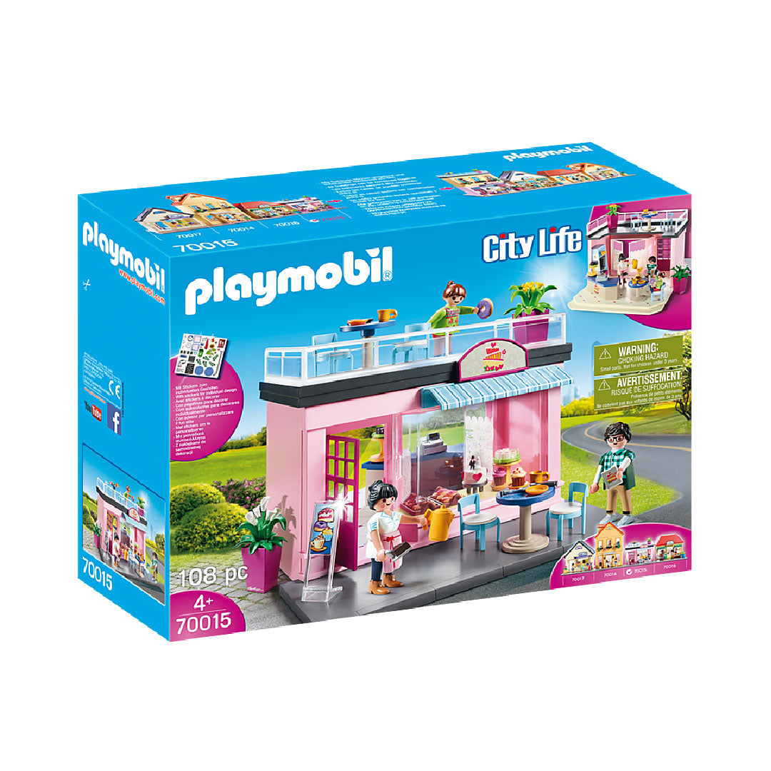 Playmobil City Life - My Café | Toy Galeria Singapore
