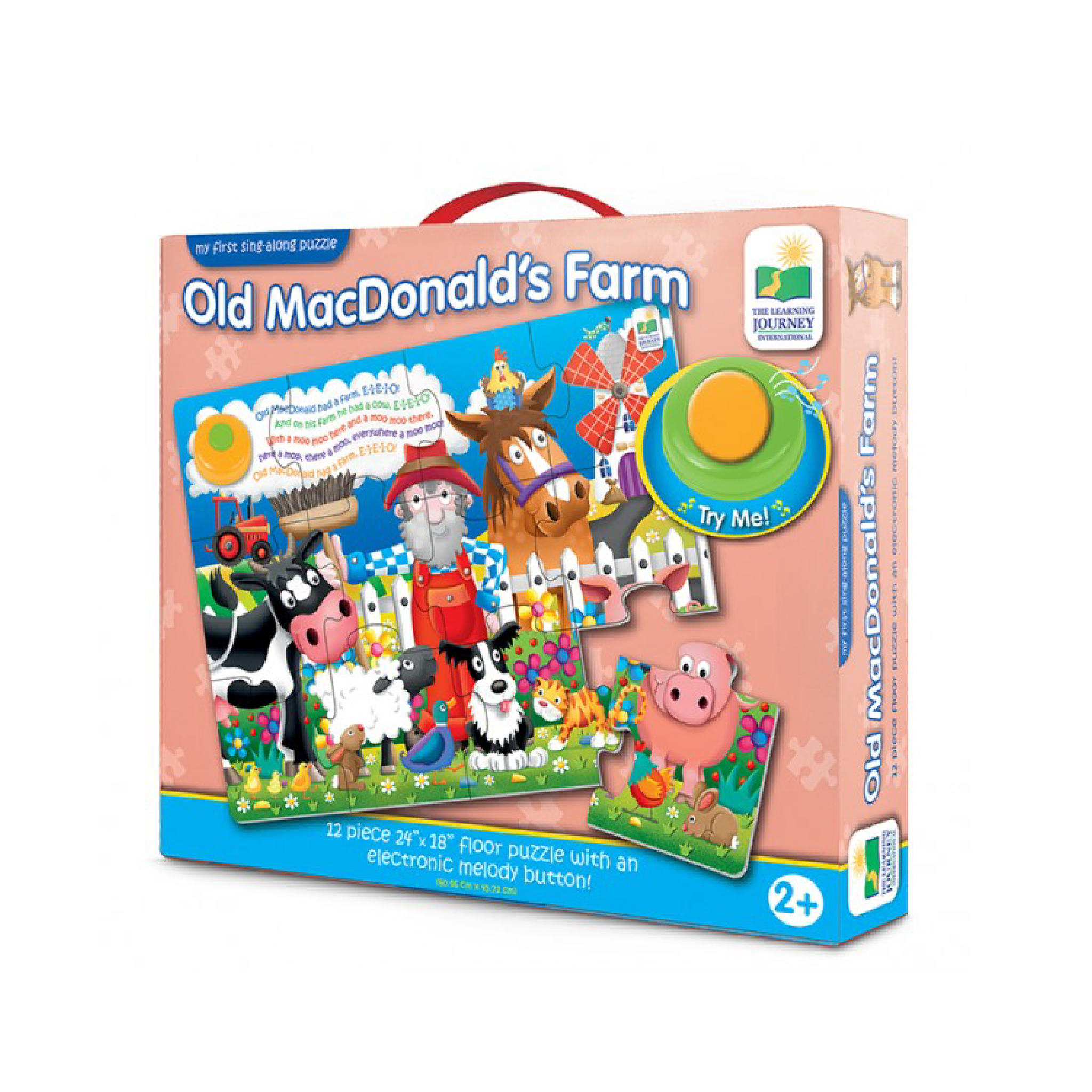 My First Sing Along Puzzle Old MacDonald | Toy Galeria