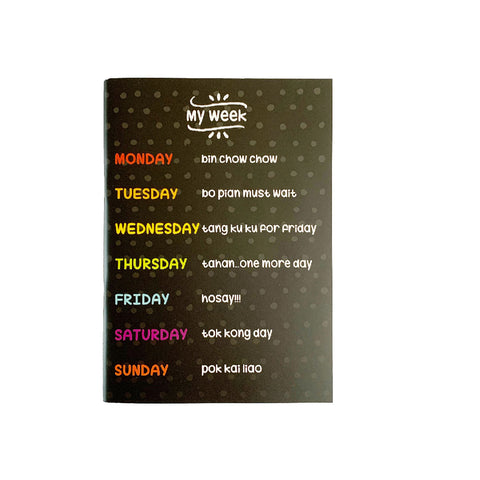 Ameba My Week Notebook (Bundle of 2) | Toy Galeria Singapore