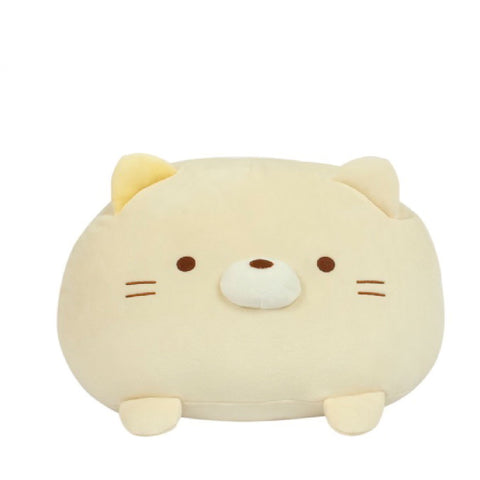 Sumikko Gurashi Neko Mochi Cushion 14 Inches | Toy Galeria Singapore