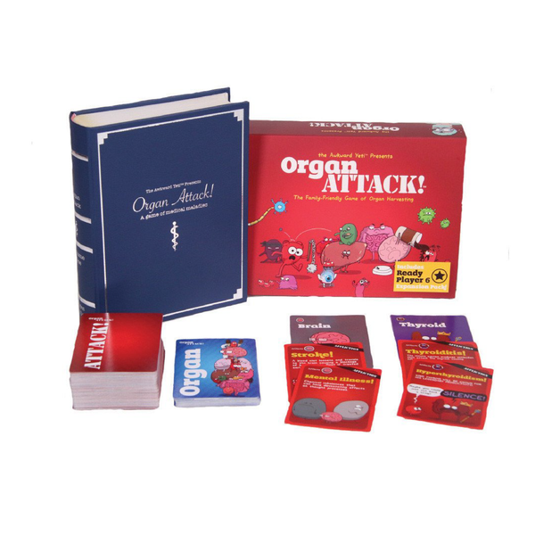 Awkward Yeti OrganATTACK Card Game | Toy Galeria