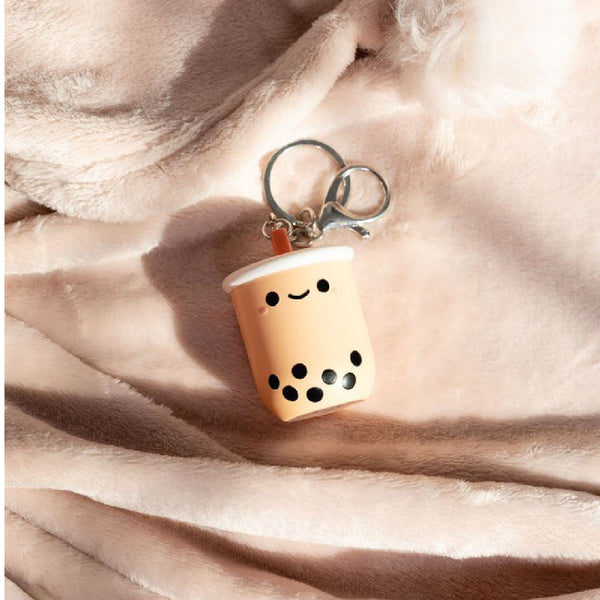Smoko Pearl Boba Tea Light-Up Keychain | Toy Galeria Singapore