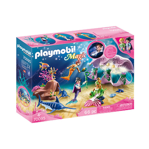 Playmobil Magic Mermaid World - Pearl Shell Nightlight | Toy Galeria Singapore