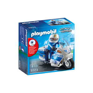 Playmobil City Action - Police Bike with LED Light | Toy Galeria Singapore