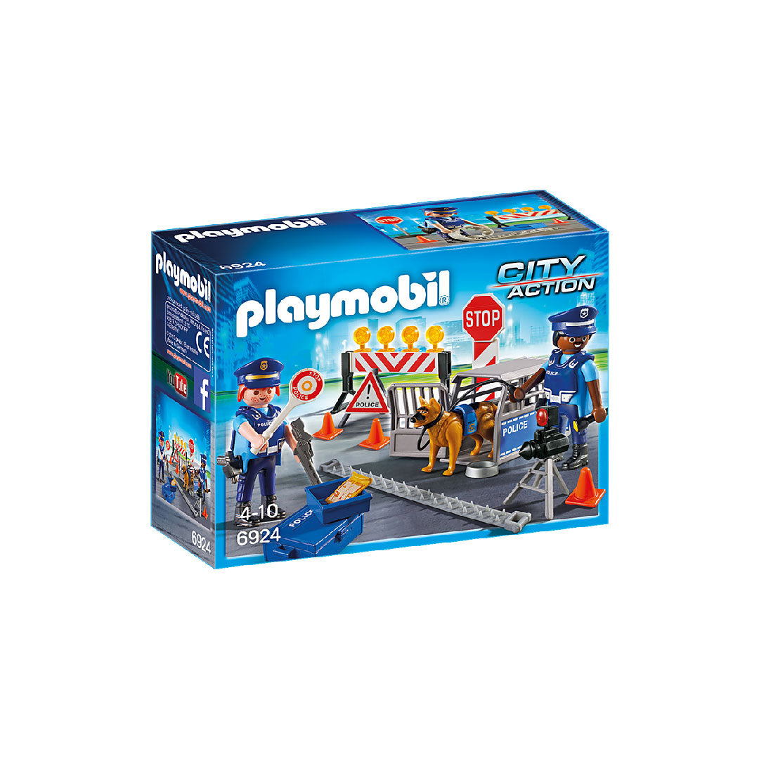 Playmobil City Action - Police Roadblock | Toy Galeria Singapore