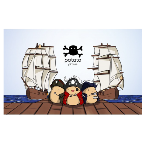 Potato Pirates | Toy Galeria