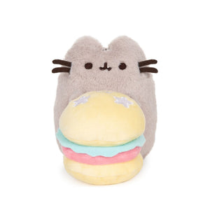 Gund Pusheen 10th Anniversary Deluxe Plush Hamburger 6 inches | Toy Galeria Singapore