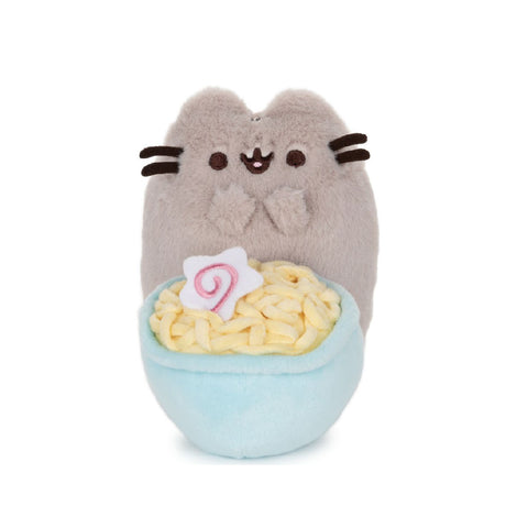 Gund Pusheen 10th Anniversary Deluxe Plush Ramen 6 inches | Toy Galeria Singapore