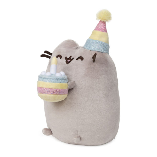 Gund Pusheen Birthday Cake Plush 9.5 inches | Toy Galeria Singapore