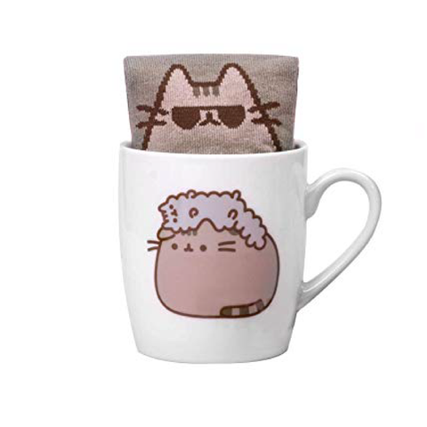 Pusheen Sock in a mug Pusheen and Stormy Singapore