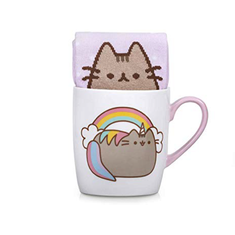Pusheen Sock in a mug Unicorn Singapore
