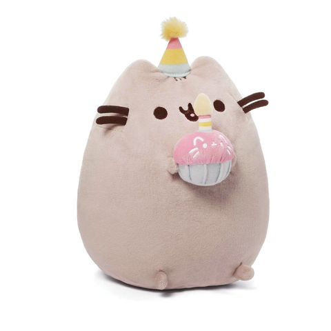 Gund Pusheen Birthday Cupcake Plush | Toy Galeria