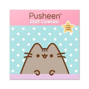 Erik Pusheen Calendar 2020 30x30cm Rose Collection | Toy Galeria Singapore