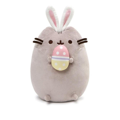 Gund Pusheen Easter Bunny with Egg Plush 10"
