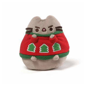Gund Pusheen Holiday Sweater Plush 4.5"