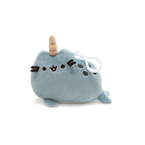 Gund Pusheen Narwhal Backpack Clip Plush | Toy Galeria