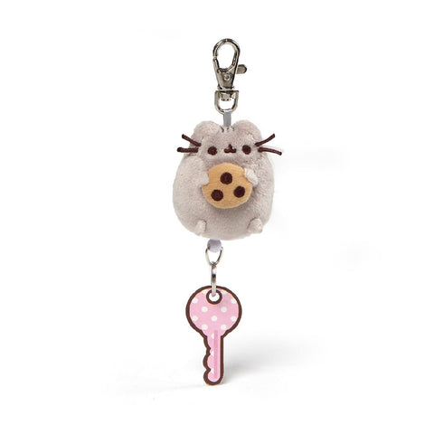 Gund Pusheen Retractable Keychain 2.5"