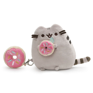 "Pusheen With Donut 6"" Plush (Detachable Plush Backpack Clip) Singapore 