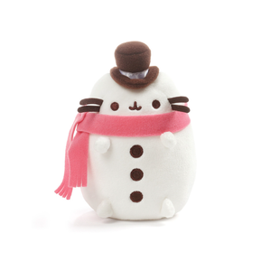 Gund Pusheen Snowman Plush 6"