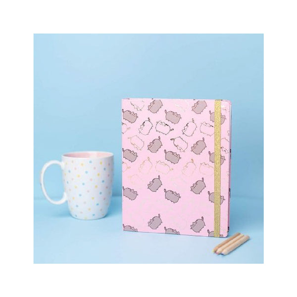Erik Pusheen Notebook Premium A5 Spine Wire-o | Toy Galeria Singapore