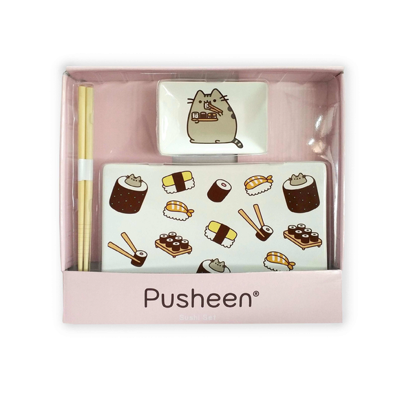 Gund Pusheen Sushi Set | Toy Galeria