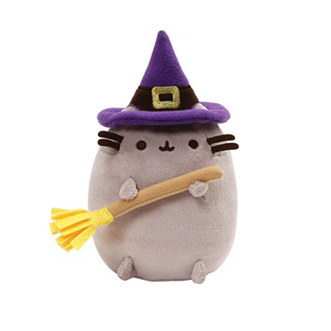 "Pusheen Witch Plush 4.5"" Singapore 