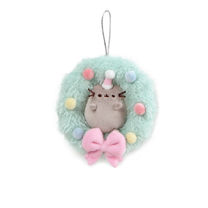 Gund Pusheen Wreath Ornament 4.5"